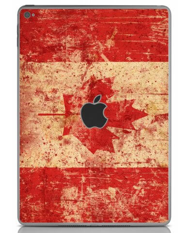 CANADIAN FLAG Apple iPad Air 2 A1566 SKIN