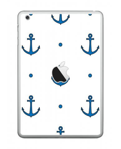 BLUE ANCHORS Apple iPad Mini A1432 SKIN