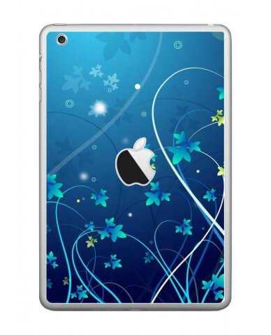 BLUE FLOWER Apple iPad Mini A1432 SKIN