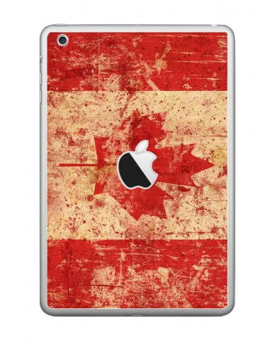 CANADIAN FLAG Apple iPad Mini A1432 SKIN