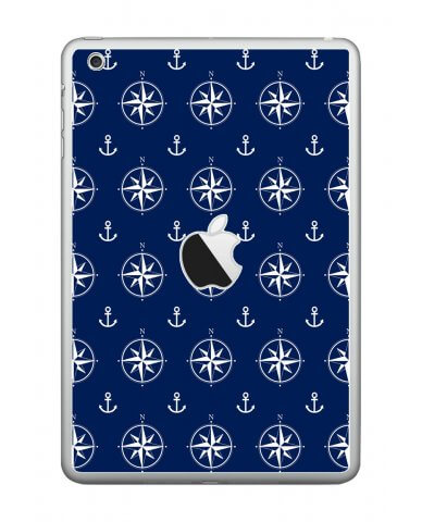 NAUTICAL ANCHORS Apple iPad Mini A1432 SKIN
