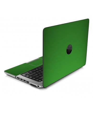 MTSGREEN TEXTURED ALUMINUM HP ProBook 850 G1 Skin
